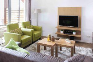 Gezellig Ingerichte Woonkamer : Het appartement residence astenberg